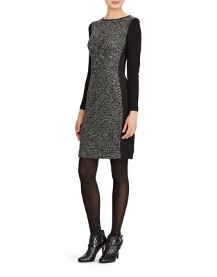 Paneled Knit Dress by Lauren Ralph Lauren