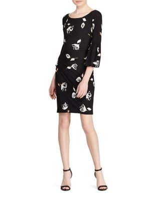 Floral Print Sheath Dress by Lauren Ralph Lauren