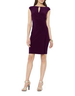 Slim-Fit Keyhole Jersey Dress by Lauren Ralph Lauren