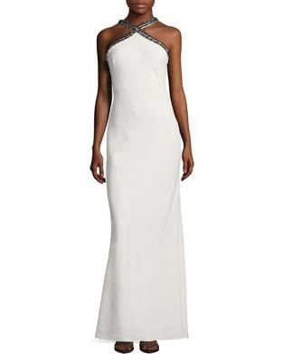 Sleeveless Gown by Halston Heritage