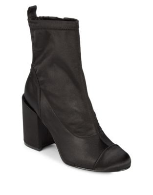 Tache Satin Cap Toe Booties by Marc Fisher LTD
