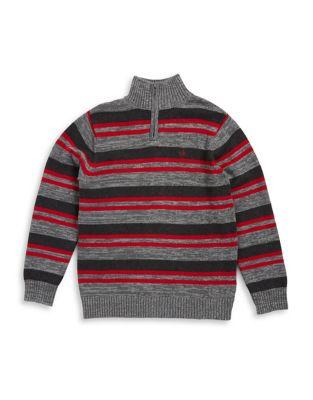 Boy's Half-Zip Sweater...