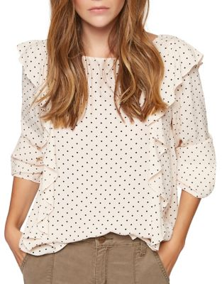 Taylor Three-Quarter Sleeve Top