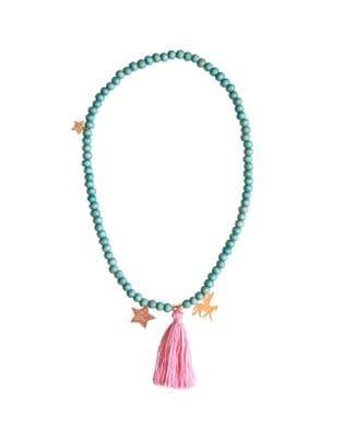 Girls Unicorn Beaded Necklace