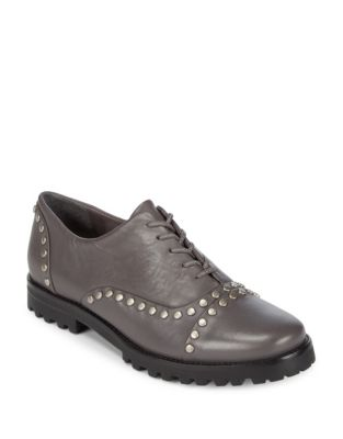 Owen Leather Stud Oxford by Bernardo