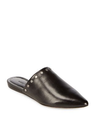 Annie Leather Mules by Bernardo