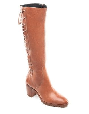Frances Knee-High Leather Boots by Bernardo