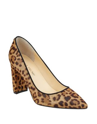 Katiely Leopard Calf Hair Pumps by Ivanka Trump