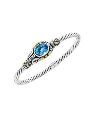 Blue Topaz and Sterling...