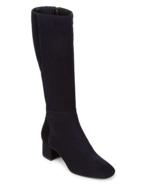 Julie Block Heel Knee-High Boots by Aquatalia