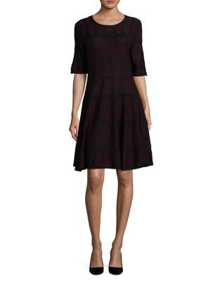 Elbow-Length Sleeve Dress by Ivanka Trump