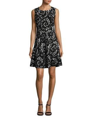 Sleeveless Flouncy Dress by Ivanka Trump
