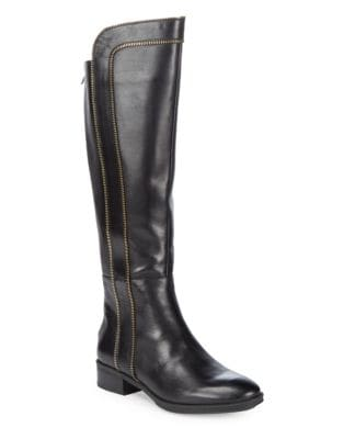 Mimi Leather Boots by Karl Lagerfeld Paris