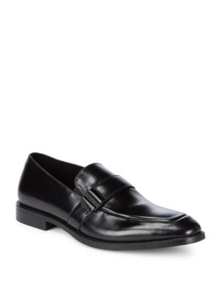 Slip-On Leather Loafers...