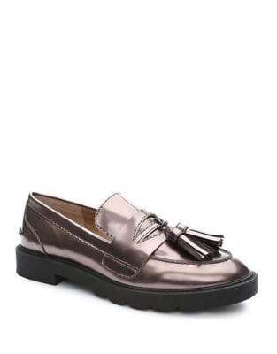 Sugar Metallic Tassel Loafer by Tahari