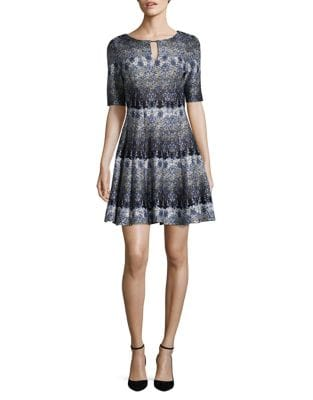 Paisley A-Line Dress by Gabby Skye