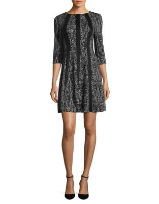 Jacquard Shift Dress by Gabby Skye