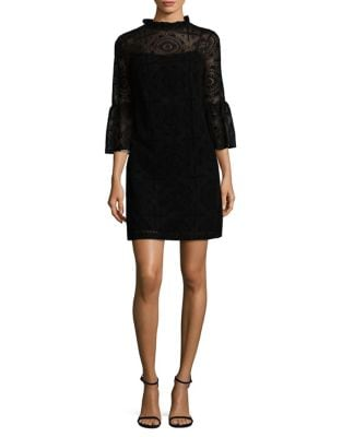 Lace Sheath Dress by Calvin Klein