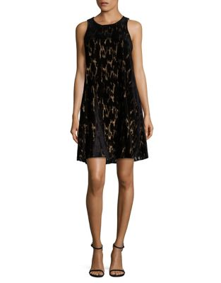 Sleeveless A-Line Dress by Calvin Klein