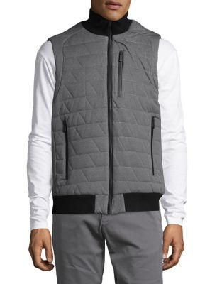 Turtleneck Puffer Vest...