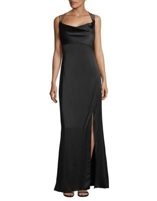 Strappy Satin Gown by Laundry by Shelli Segal