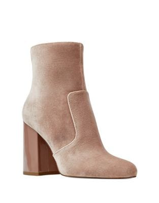 Jilene Microsuede Booties by Nine West