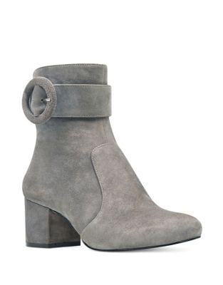 Quilby Suede Booties by Nine West