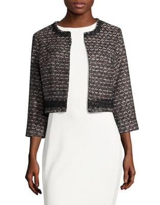 Tweed Blazer by Karl Lagerfeld Paris