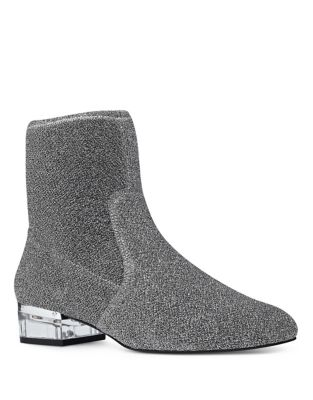Urazza Fabric Booties by Nine West