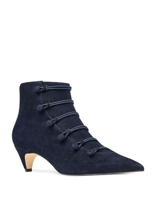 Zadan Suede Booties by Nine West