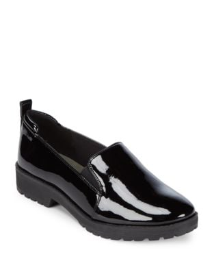 Believer Glossy Loafers by Anne Klein
