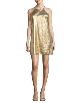 Metallic Shift Dress 500087537959