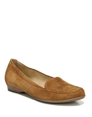 Saban Suede Slip-On Loafers by Naturalizer