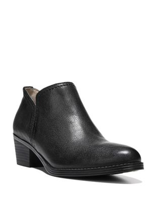 Zarie Leather Ankle Boots by Naturalizer