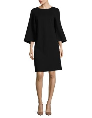 Split Sleeve Shift Dress 500087540618