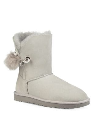Irina Fur Round Toe Boots by UGG