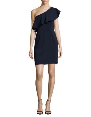Petite Pull-On Sheath Dress by ML Monique Lhuillier
