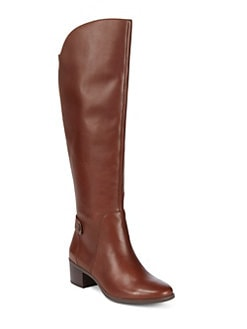 QUICKVIEW. Anne Klein. Jela Knee-High Leather Boots