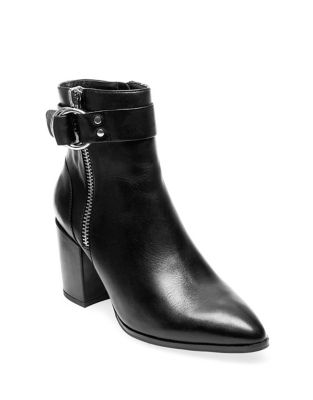 Johannah Leather Ankle Boots by Steven by Steve Madden