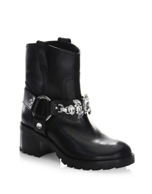 Campbell Leather Booties by Marc Jacobs