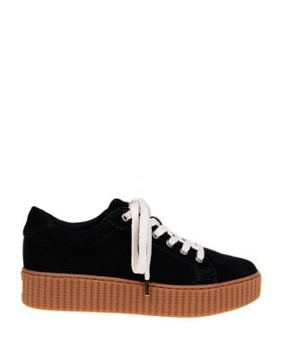 Ruth Suede Platform Sneakers by Splendid