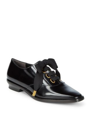 Brittany Leather Oxfords by Marc Jacobs