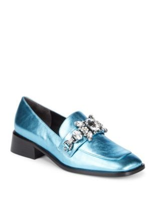 Tilde Leather Loafers by Marc Jacobs