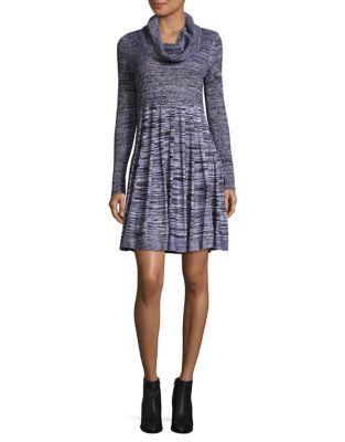 Cowl Sheath Dress by Calvin Klein