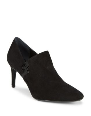 Joanie Suede Shooties by Calvin Klein