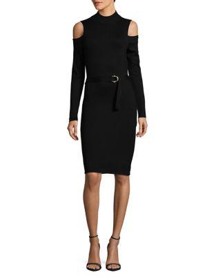 Cold-Shoulder Dress by Calvin Klein