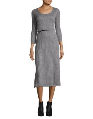 Heathered Dress by Calvin Klein
