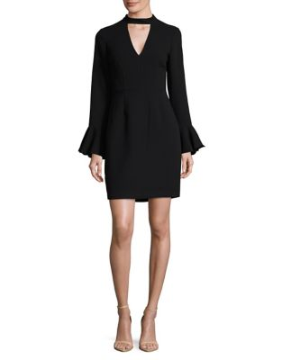 Bell Sleeve Choker Dress by Vince Camuto