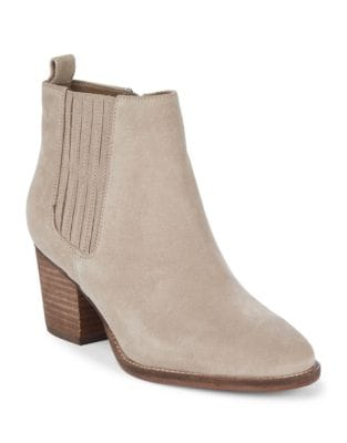Nox Waterproof Suede Ankle Boots by Blondo