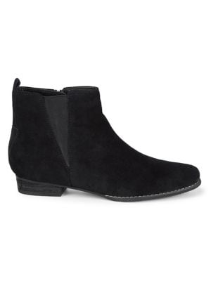 Loxx Waterproof Suede Booties by Blondo